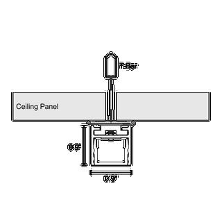 Cirrus T Bar Geo Form Modular