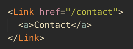 Link component example