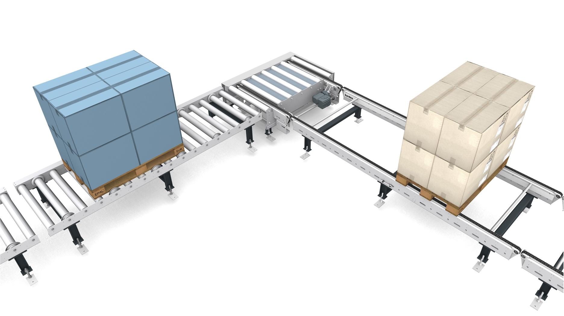 Transfer unit - lift table