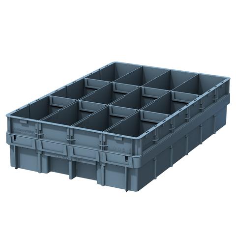VCM-Box mit Teilerblechen