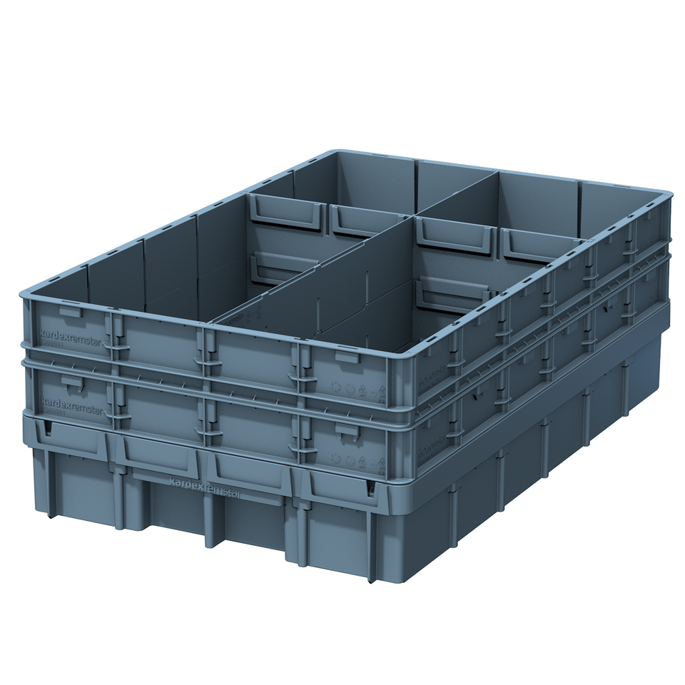 VCM Box with Dividers