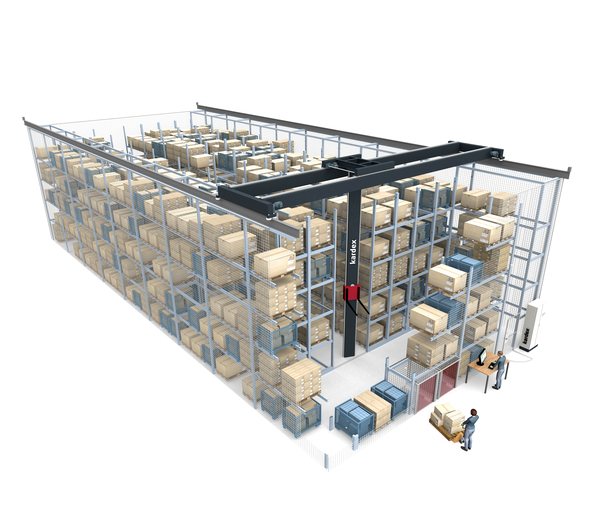 MCompact: Automated, universal mobile racking system
