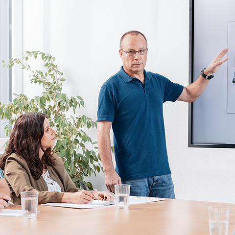 Classroom and in-field onboarding training sessions