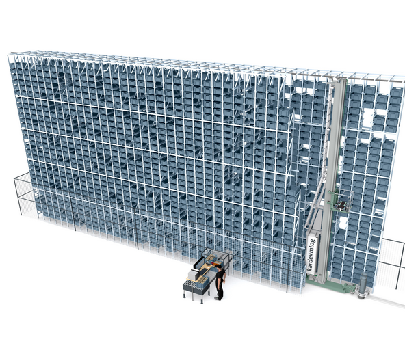 MDynamic: Automated tote storage