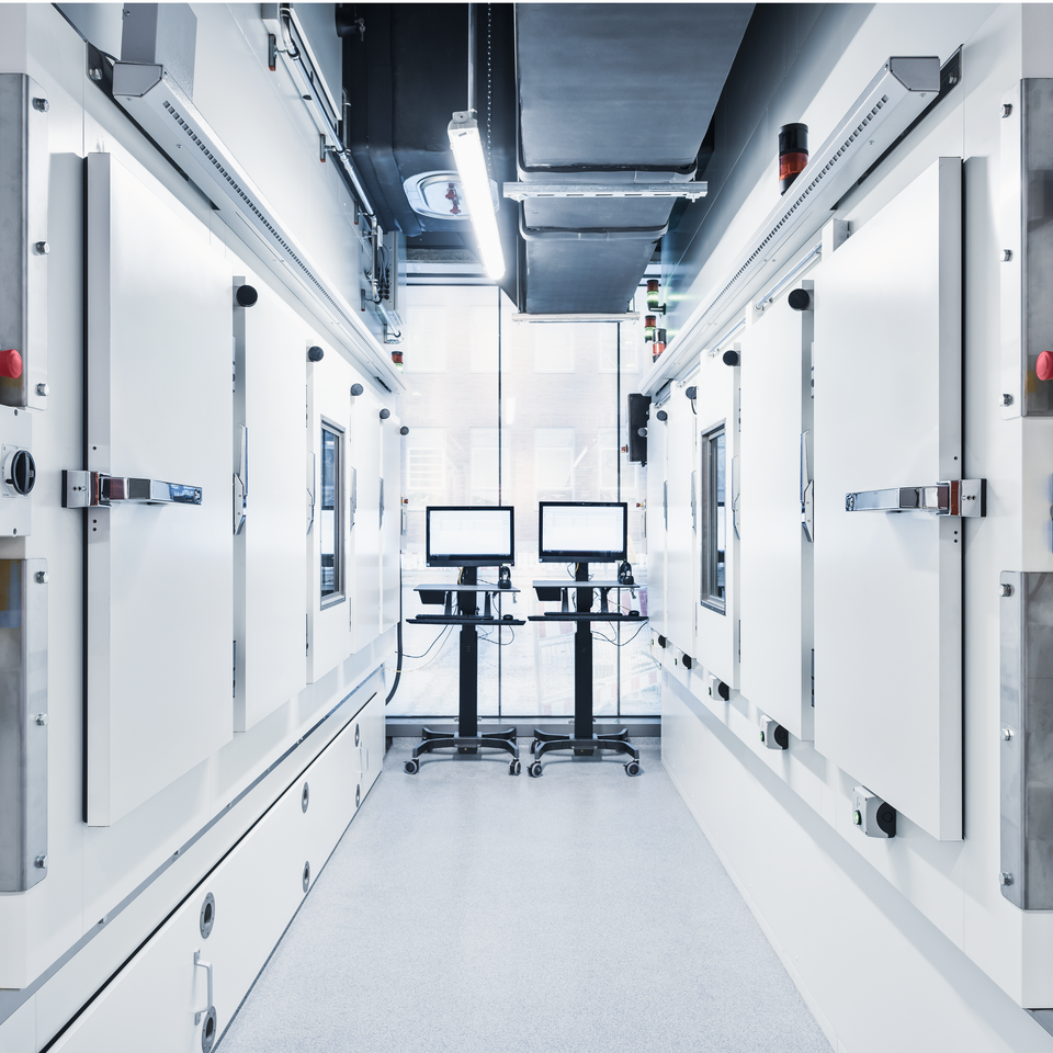 Vertical Lift Modules for the Pharmaceuticals Industry to store under controlled environments