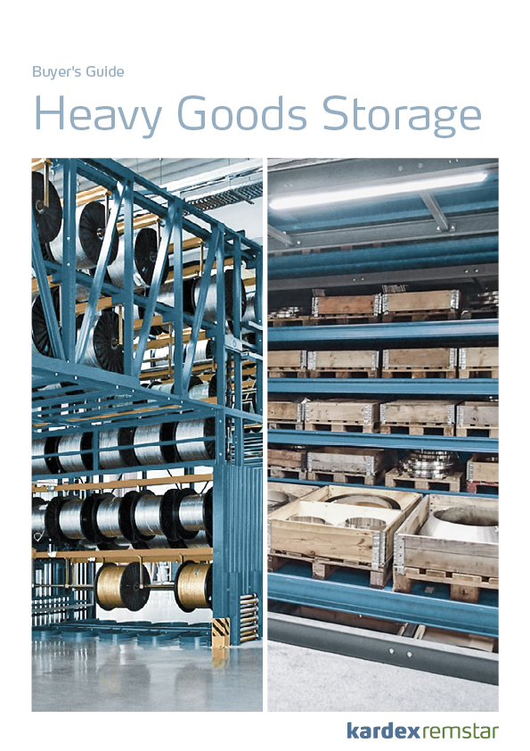 Preview Buyers Guide Heavy Goods Storage