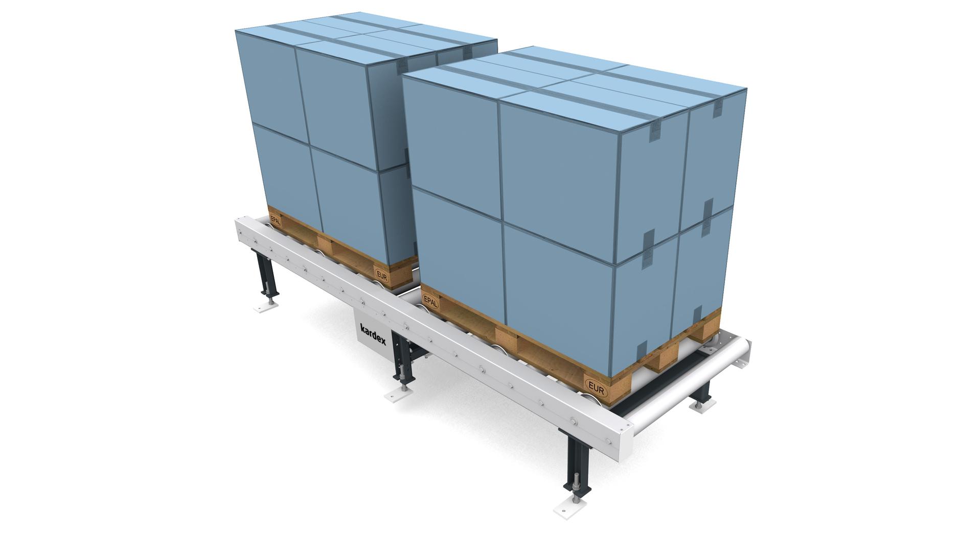 Accumulating roller conveyor