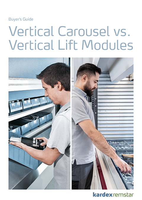Buyers Guide Vertical Carousel vs. Vertical Lift Module Preview