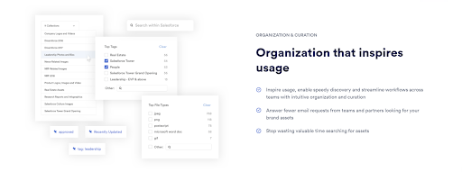 Overview of Brandfolder asset organization and useage