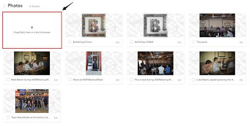 Brandfolder image upload function