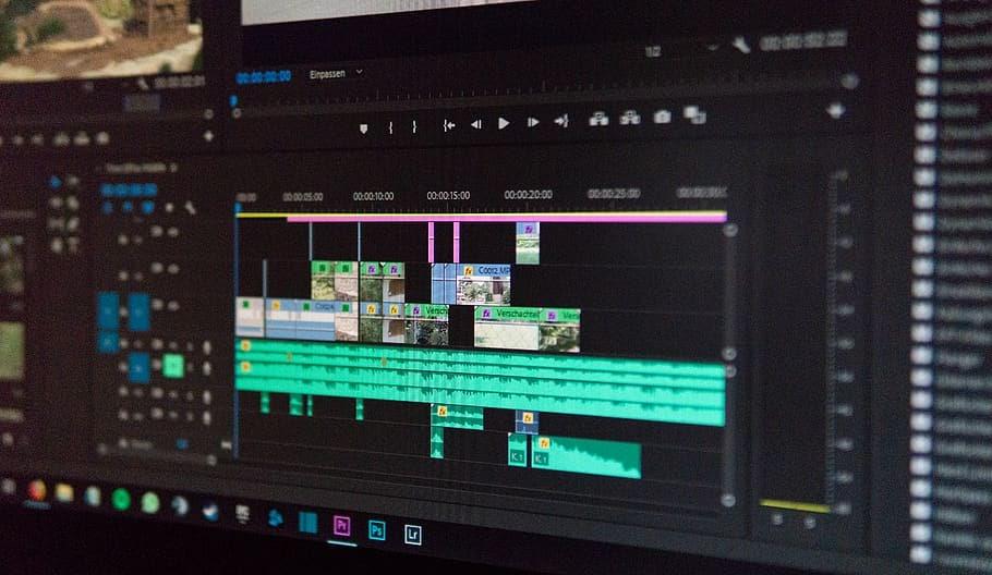 Screenshot of Adobe Premiere Pro