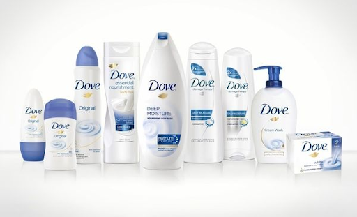 Dove branded products
