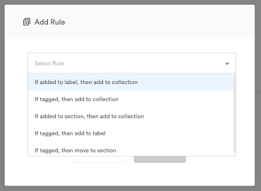 Adding automation rules in Brandfolder