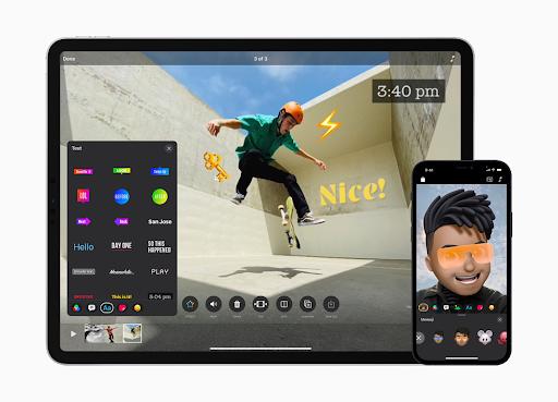 Screenshot of Apple Clips