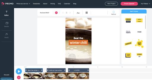 Screenshot of Promo.com