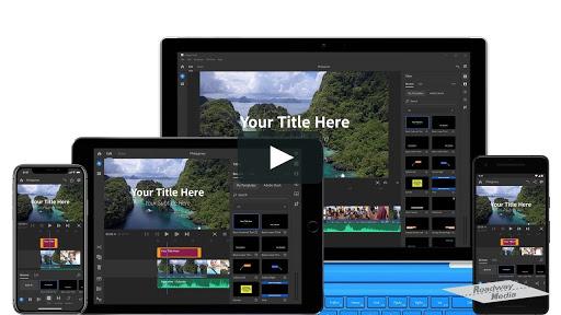 Screenshot of Adobe Premiere Rush