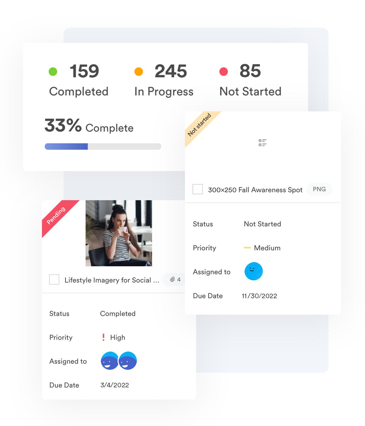screenshot demonstrating share link functionality