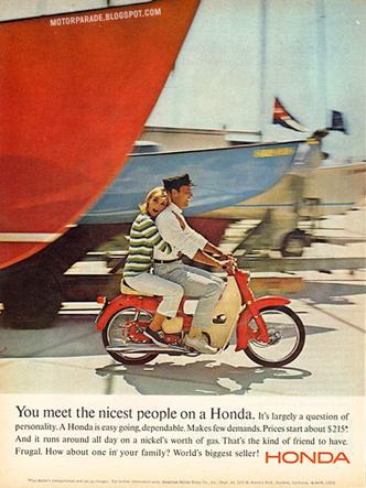 vintage Honda bike