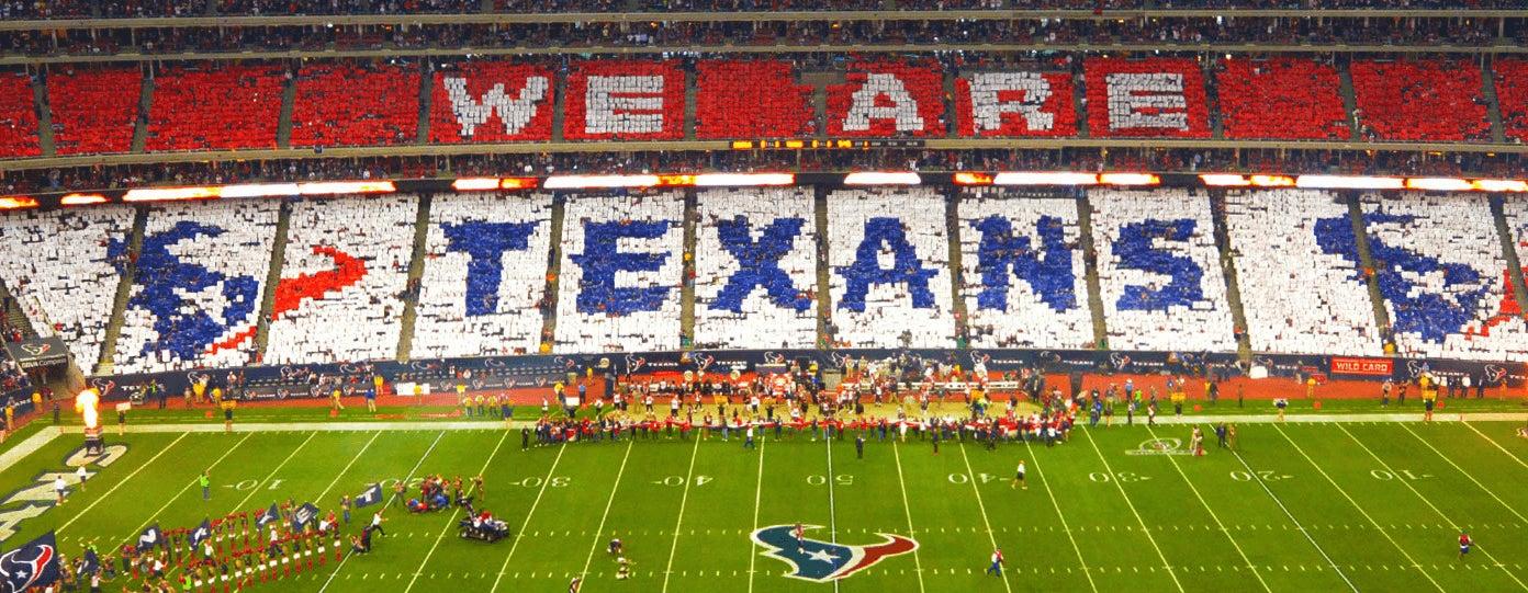 Houston Texans football field