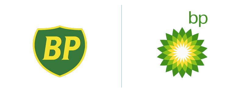 BP logo rebranding