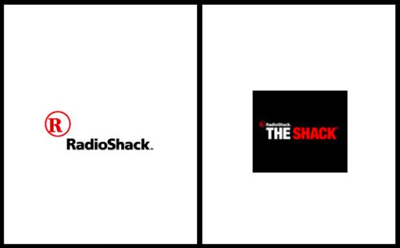 RadioShack logo rebranding