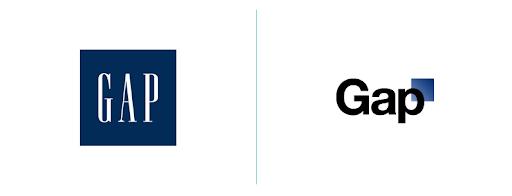 Gap logo rebranding