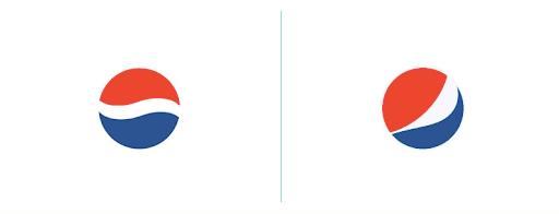 Pepsi logo rebranding
