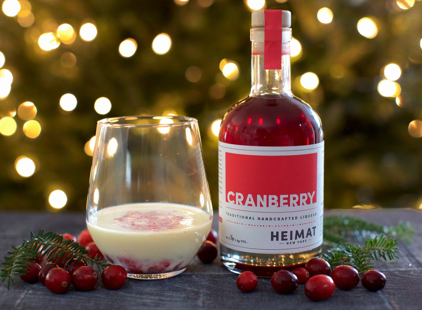 Oh Tannenbaum - Holiday Cocktail Recipe