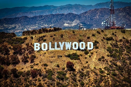 Bollywood sign