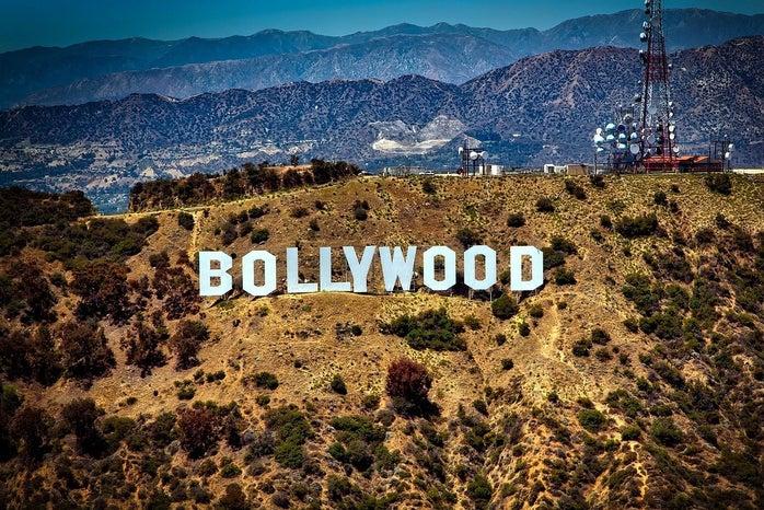 Bollywood sign