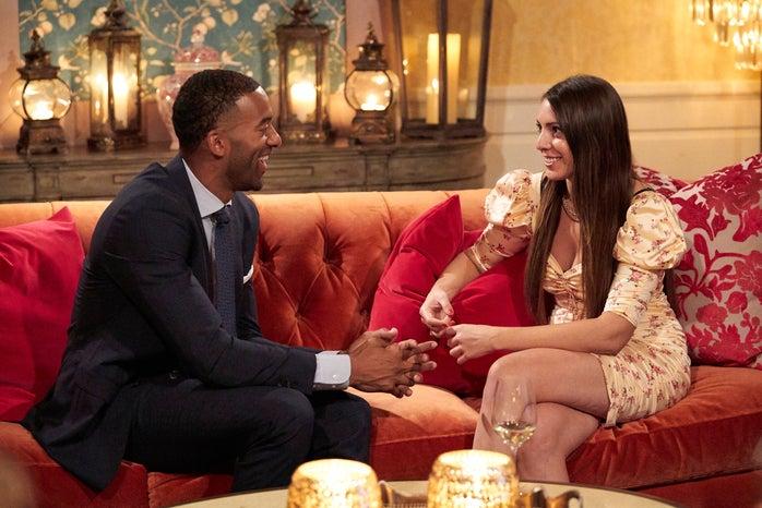 Matt and Victoria on The Bachelor
