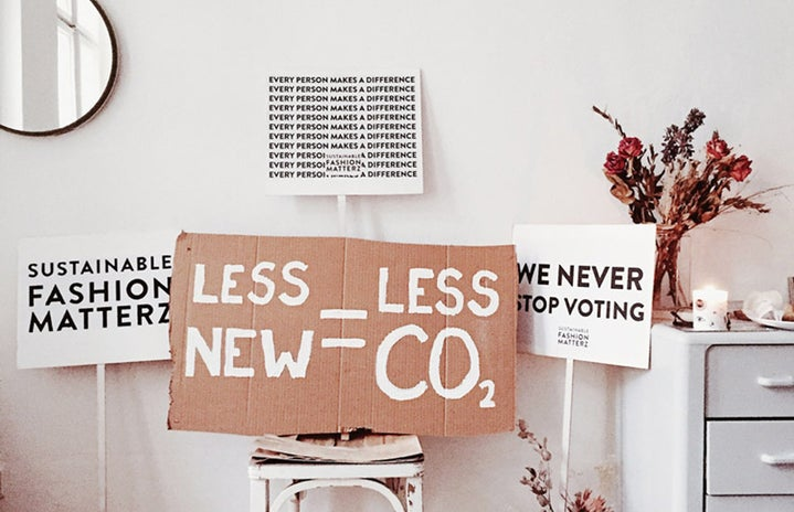 sustainable fashion support