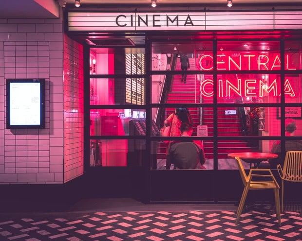 Central Cinema window