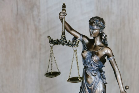Lady Justice background