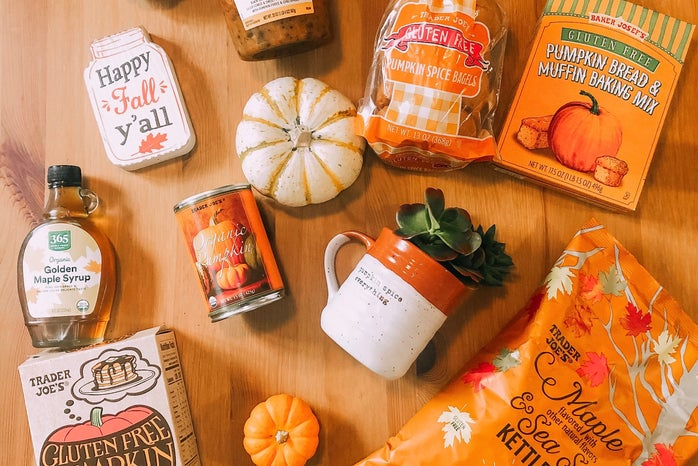 A picture of Trader Joe's fall Goods