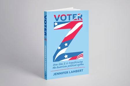 Photo of Jennifer Lambert's book Voter Z