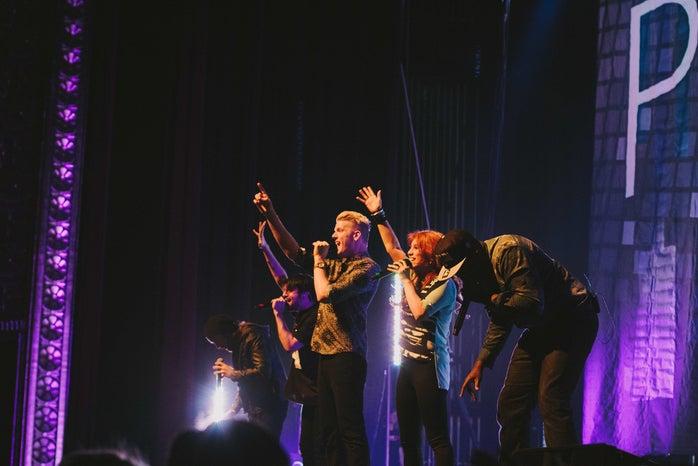 Pentatonic (music group) performing