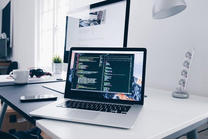 laptop coding
