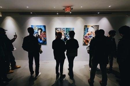 Luis Aleman exhibit