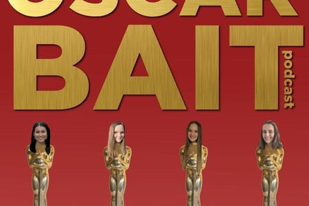 four friends running Oscar Bait podcast