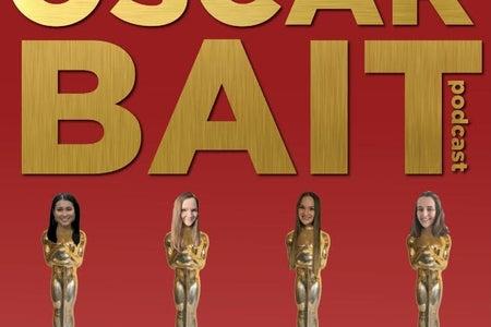 four friends running Oscar Bait podcast