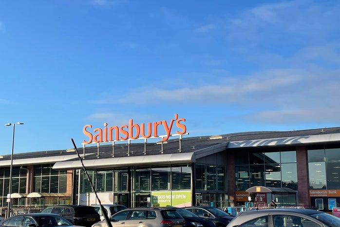 Front of Sainsbury\'s the Supermarket