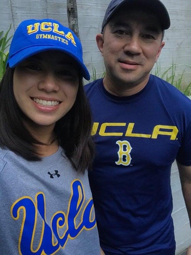 Photo of Sofia Gonzalez and her dad