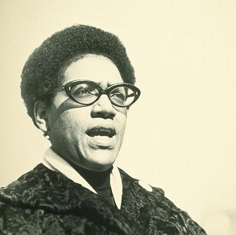 Audre Lorde, famous queer author and activist