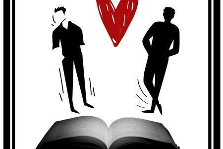 Two men and a book