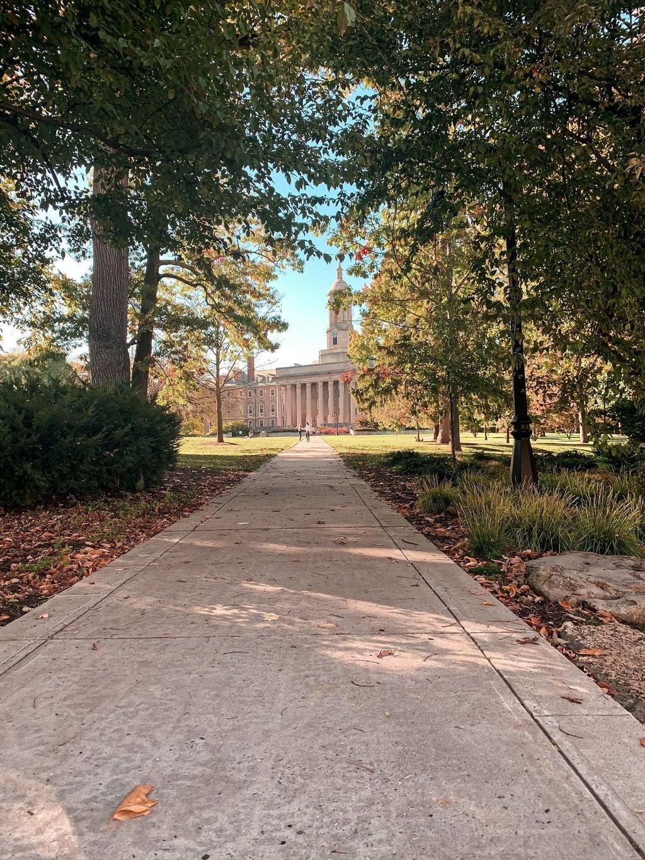 Penn State Fall Landscape