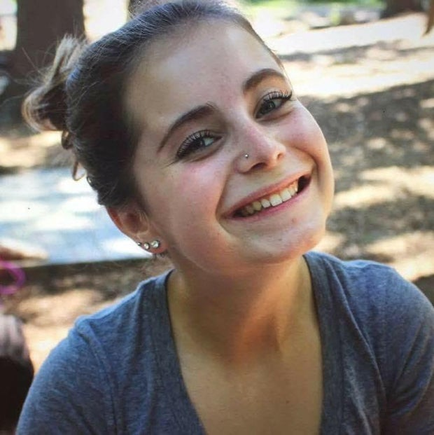 Photo of Camryn Libes to accompany an interview with her in an article speaking to AU students