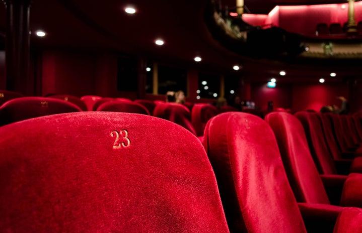 Movie theater seat