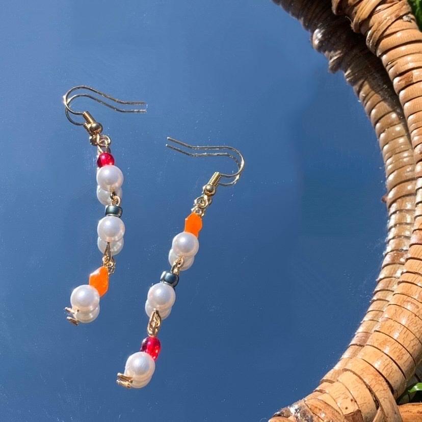 Handmade repurposed earrings
