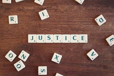 justice scrabble letters